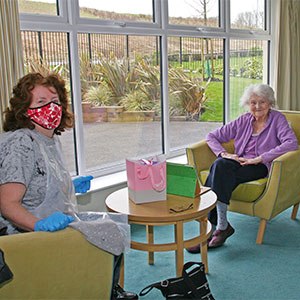 Link House Care Home opens doors for family visits