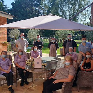 Lyncroft Care Home rated 10/10 by families