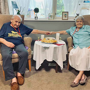 Date Night wish comes true for Pat & Ron at The Laurels Care Home