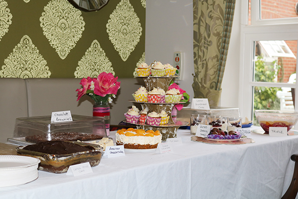 A selection of our residents cakes