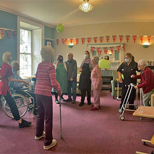 Country Court Care Homes join the Captain Tom 100 charity challenge
