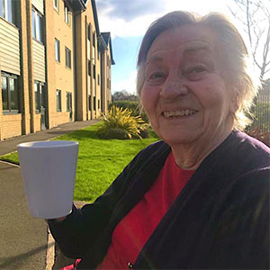 Country Court Care Home open doors for family visits
