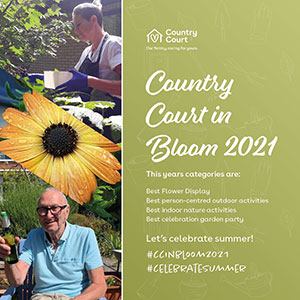 Country Court in Bloom 2021