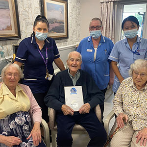 The Grange recognised as a Top 20 Care Home in annual carehome.co.uk awards