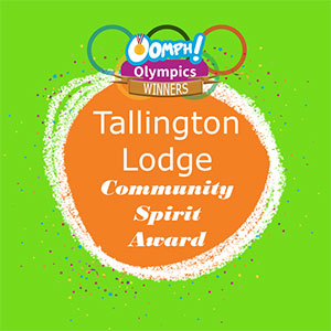 Tallington Lodge Care Home recognised for creative Olympics themed activities