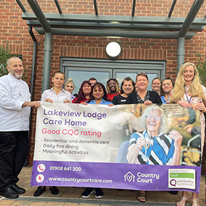 Lakeview Lodge Care Home delighted with Good CQC report